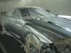 日産GT-R 板金・塗装 フロント右廻り板金